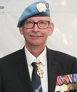 Niels Hartvig Andersen er formand for Danmarks Veteraner - en forening med 3200 medlemmer. Arkivfoto